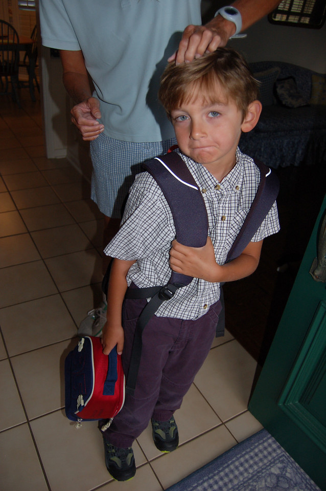 Patrick's First Day of School