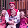 Pat with his five grandkids:  Flynn, Tessa, Tucker, Izzie, Jake.