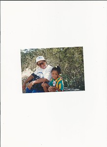 Aunt Dorthy and Seantay Patterson_Austin Tx 1993 001
