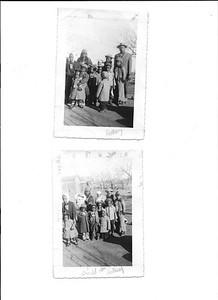 Andrew Patterson and grandkids circa 1951