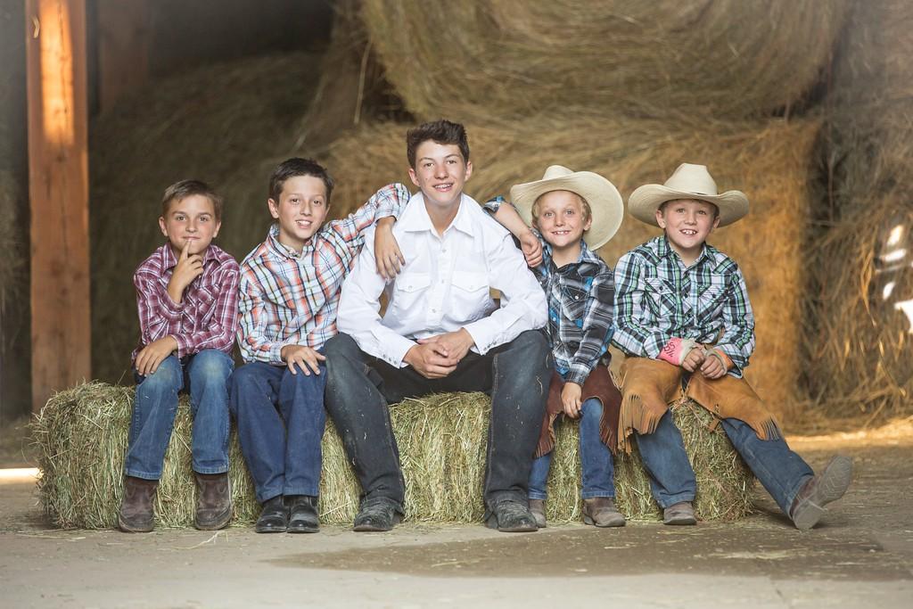 boys in the barn