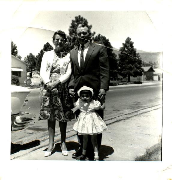 Grandma Alice , dad, Annette Easter on humphreys street