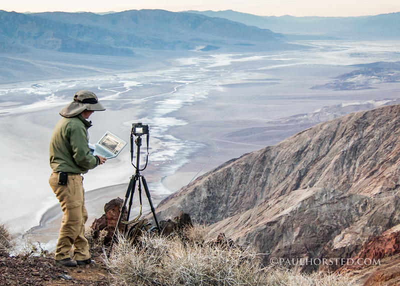 Paul at Dante's View, Death Valley National Park.