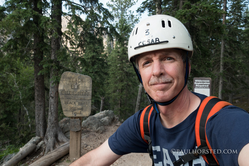 When back home in Custer, S.D., Paul is an active member of Custer County Search & Rescue.