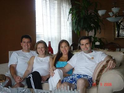 Paula e Cristiano - 25/Set/04