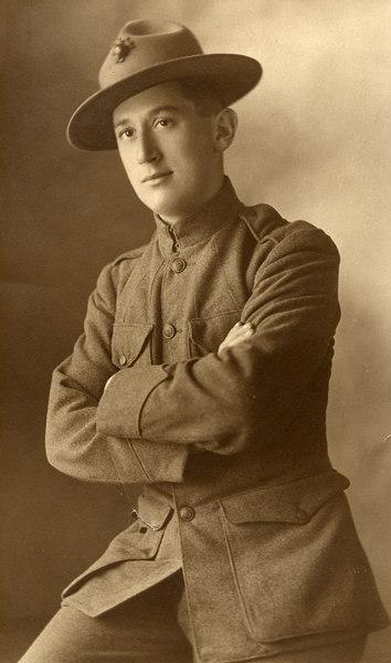 Tobias Jacob  Pechner, UCMC<br /> World War 1<br /> b. 10/27/1887, Portland, Oregon,d. 2/3/1964, San Anselmo, CA<br /> My Grandfather,who I named my son after.