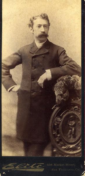 Simon Marcus Pechner, b. 1864  Krotoscyn, Prussia, married Bertha Lando 1885, San Francisco, d.  San Francisco, 1926, <br /> son of Jacob Tobias Pechner, b. 1811 Krotoscyn, Prussia, d. San Francisco, 1885, <br /> grandson of Rebel Pechner, d. 1844  Krotoscyn, Prussia