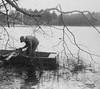 1947-06 IMG_2773 Grampa Merriam at Long Pond