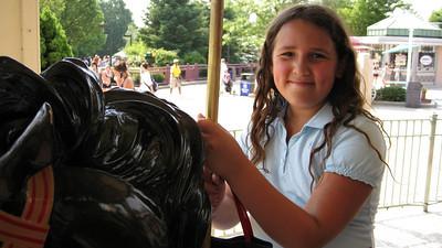charlotte at Dorney Park.
