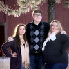 Maggie, tristan and Ramsey, Red barn back drop
