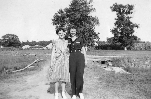 1940ish Althea and Annie Kennedy