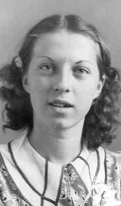 1937 Annie Kennedy in 9th grade