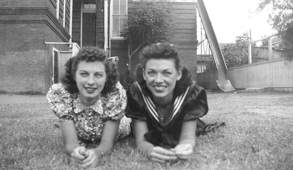 1938 Irine Brunds and Annie Kennedy