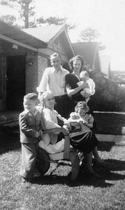 1947 Geary family with Elizabeth Geary