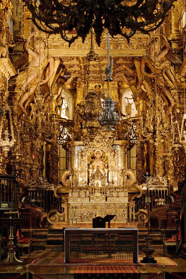 Altar de Santiago de Compostela