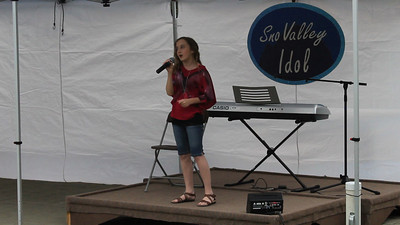 "Anastasia singing ""Brighter Than The Sun"" by Colbie Caillat, at the North Bend Farmer's Market, June 28th, 2012."