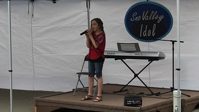 "Anastasia singing ""Like My Mother Does"" by Lauren Alaina, at the North Bend Farmer's Market, June 28th, 2012."