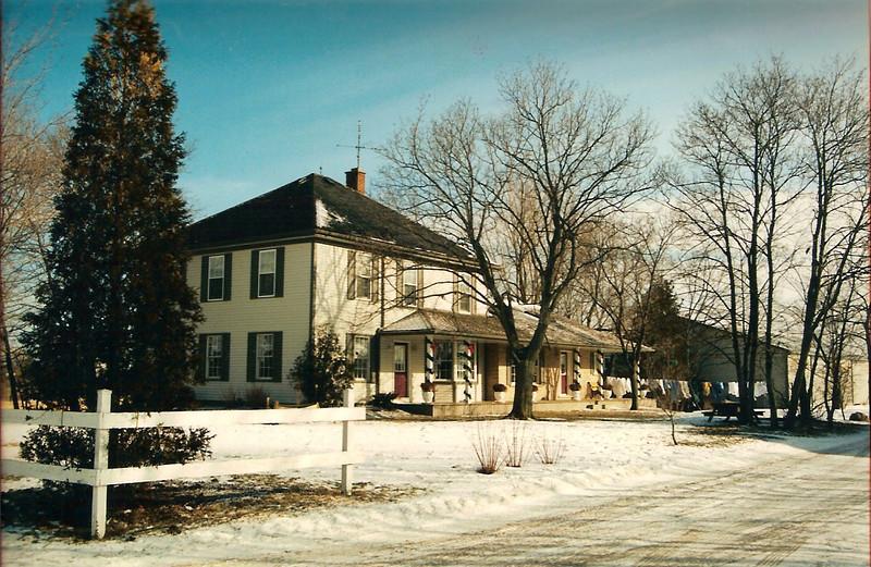 Old Perry family farm house, Tintern, Ontario