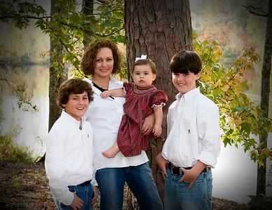 Robin's family at Shadow Lake