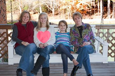 Thanksgiving 2012 - Rhonda, Rai, Elliot, & Terry