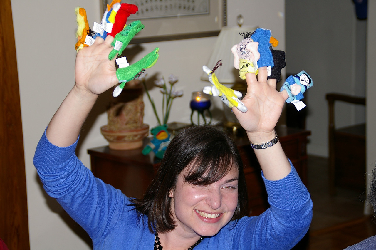 Awesome plague finger puppets, Erin!