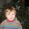 Alfie in Kieran's 1985 jumper 20151225