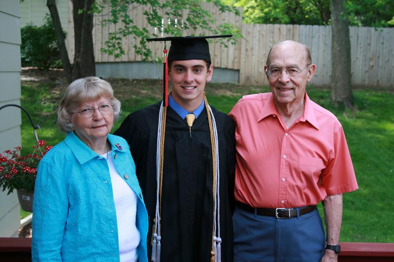 Grandma Beryl and Grandpa Bill Fowles