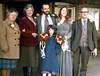 Edna Audrey Peter Lara Pam Charles Benjamin wedding 781230