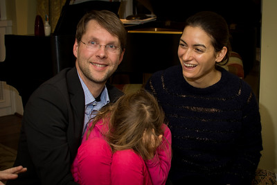 Peter, Maya and Alma in Toronto