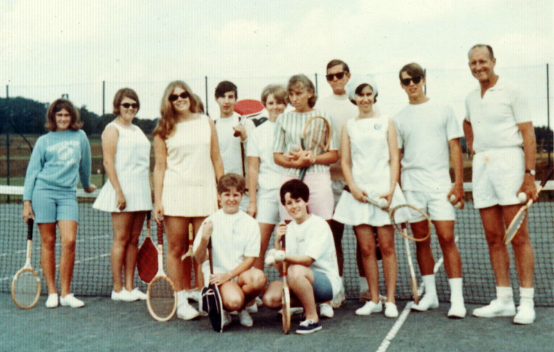 Jack Kerr Downey California and group of young Christians traveling UK summer 1968 Met Grange over Sands