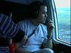 991127 Kieran in Helicopter