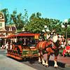 Disneyland Horsedrawn Streetcar 1970s