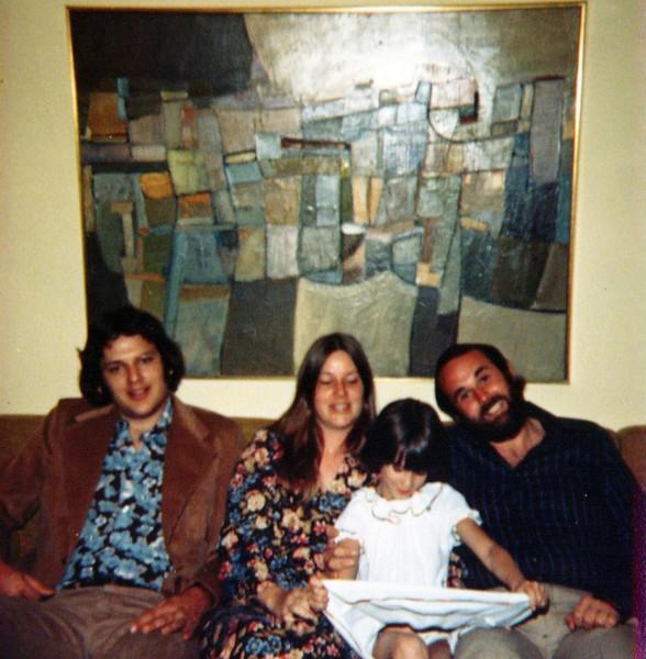 Frank Jr, Pam, Lara and Peter