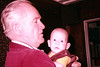Frank Snr holds Kieran