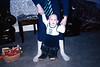 Kieran wearing huge boots