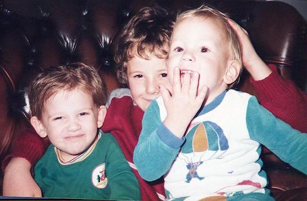 Kieran, Terence and Sean