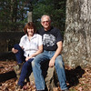 Hank and Patty by the big OLD Oak tree.