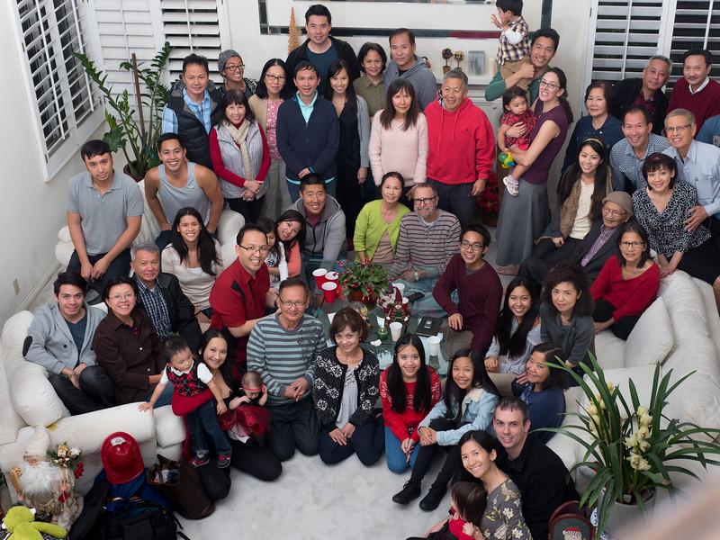 Phamily Christmas 2014 - Four Generations