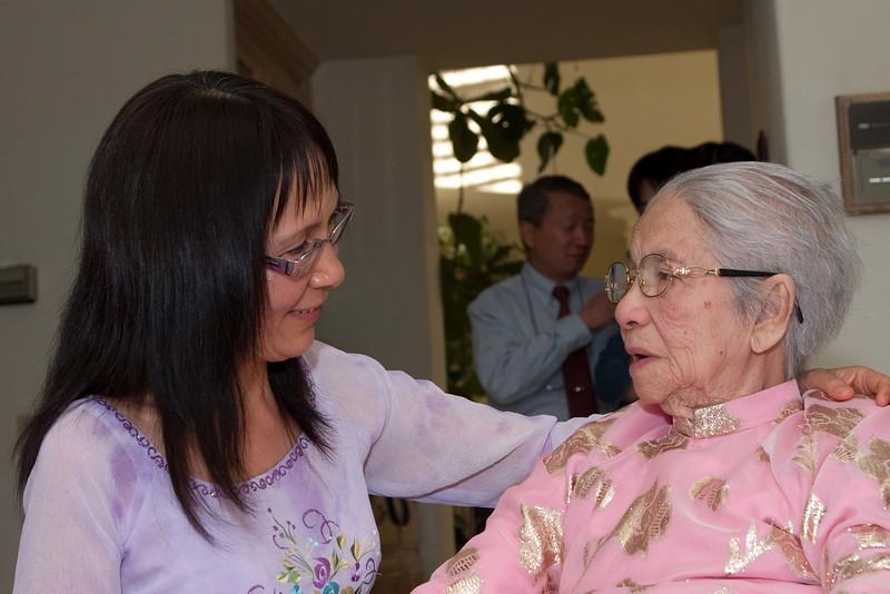 Encouraging Grandma