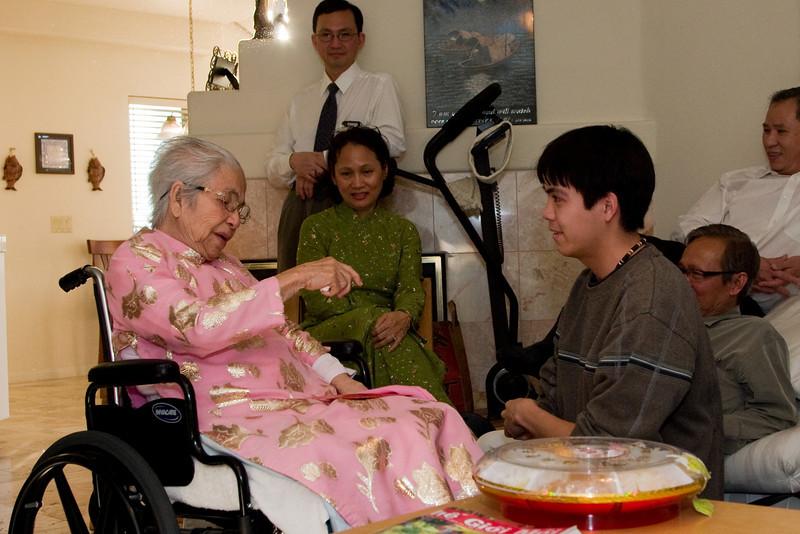 Grandma Nam and Jimmy