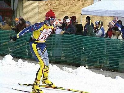 Phil at Mora, Minnesota, U.S.A. February 2001