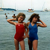 Elissa & Angie- bathing beauties at Nicolet Bay