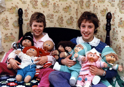 Elissa & Angie in the Cabbage Patch