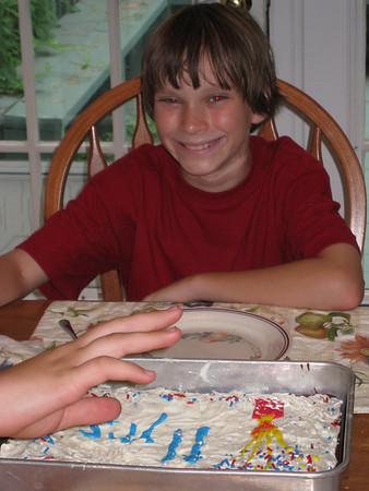 Phillip's birthday, 2008