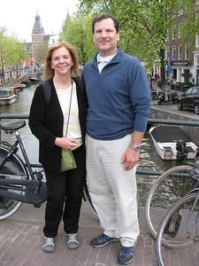 Mom and Dad at Canal bridge