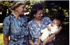 Aunts Marie and Rose Linneman with Bill - 6-25-44