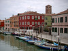 'Burano- Island of colorful homes each painted a different primary color