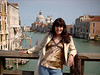 'Pam overlooking the Grand Canal