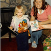 December 1980<br /> 1104 W. 680 S. Orem, UT<br /> Teresa Meakin showing early Christmas presents.
