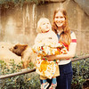 Feb. 28, 1981<br /> San Diego Zoo<br /> Teresa (2 years) and Vickie